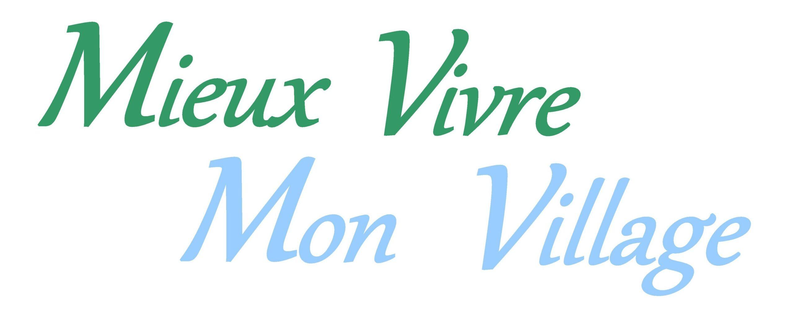 MIEUX VIVRE MON VILLAGE
