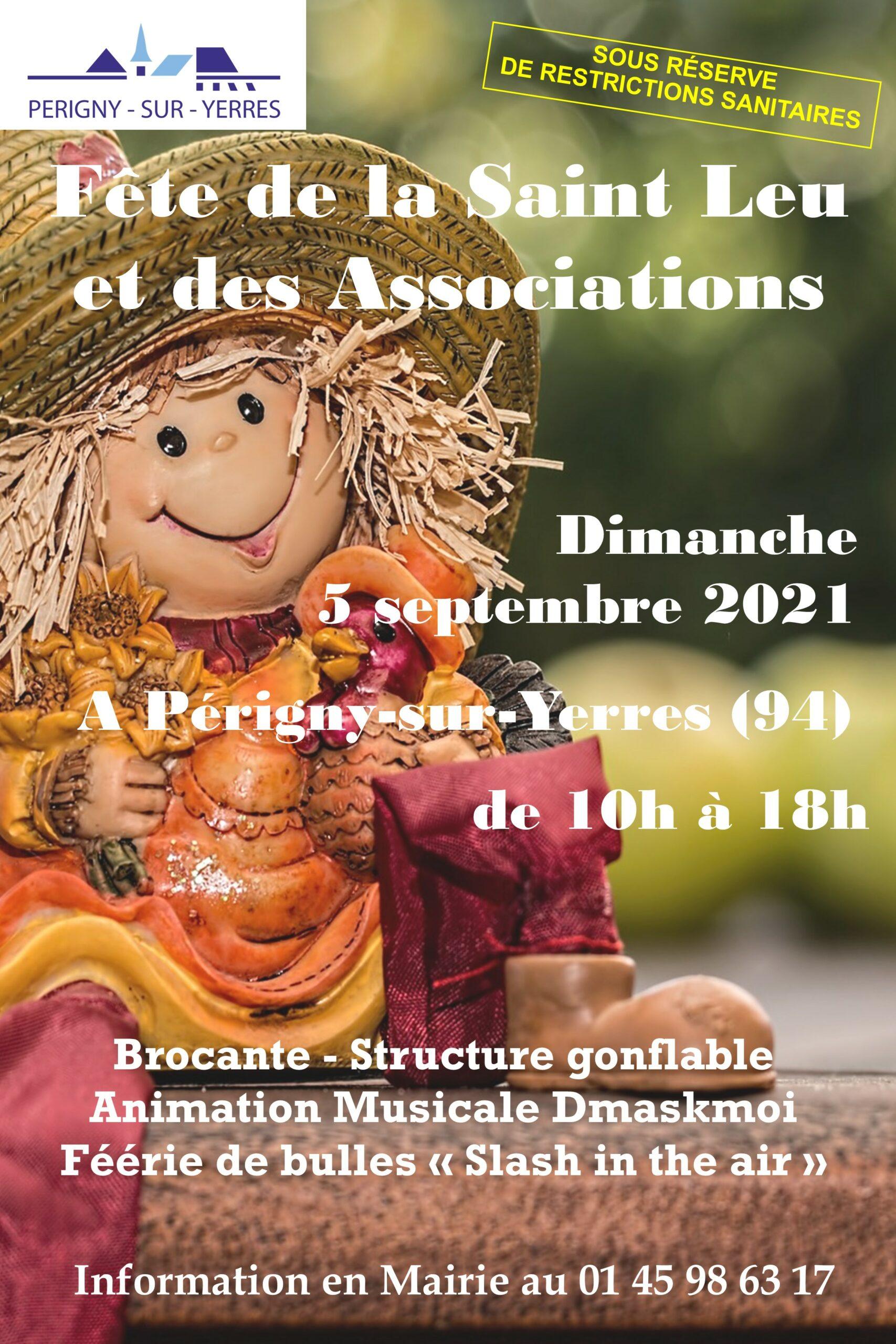 Fête de la Saint Leu et des Associations