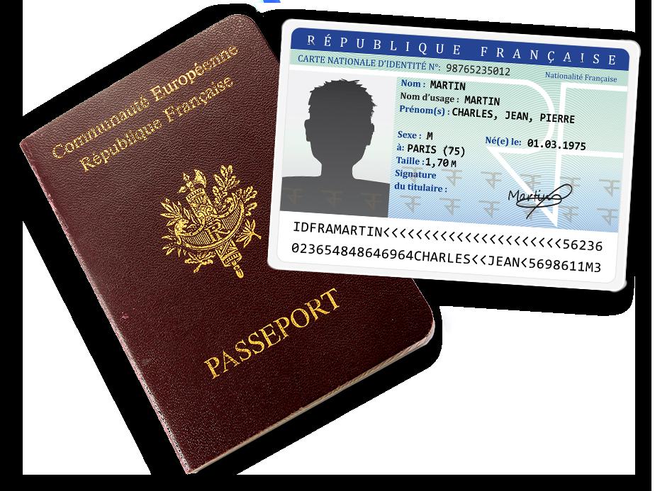 Carte Nationale d'Identité – Passeport